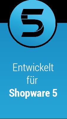 Entwickelt für Shopware 5