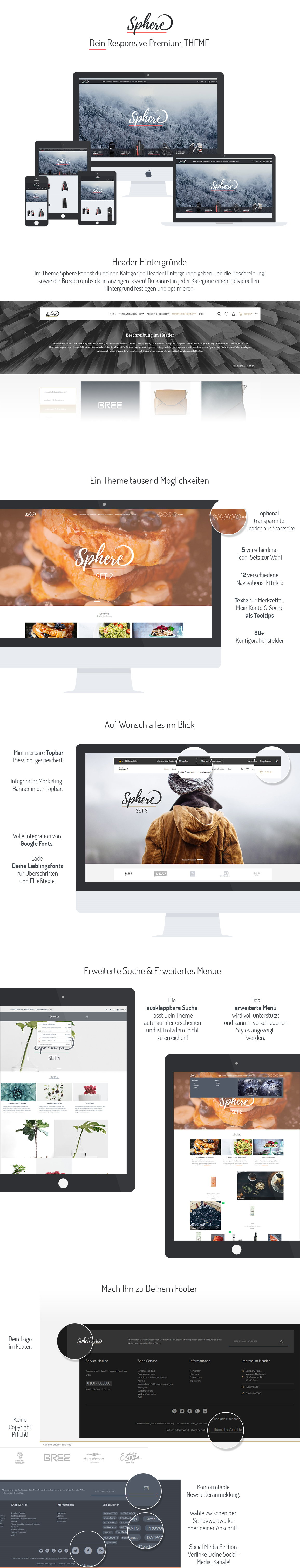 zenit Design Shopware Template